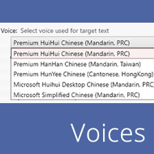 Free Chinese Text-Speech voice
