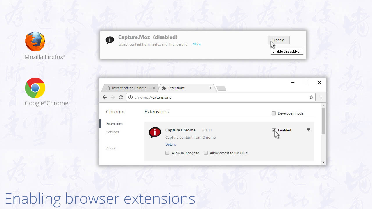 google dictionary extension for edge